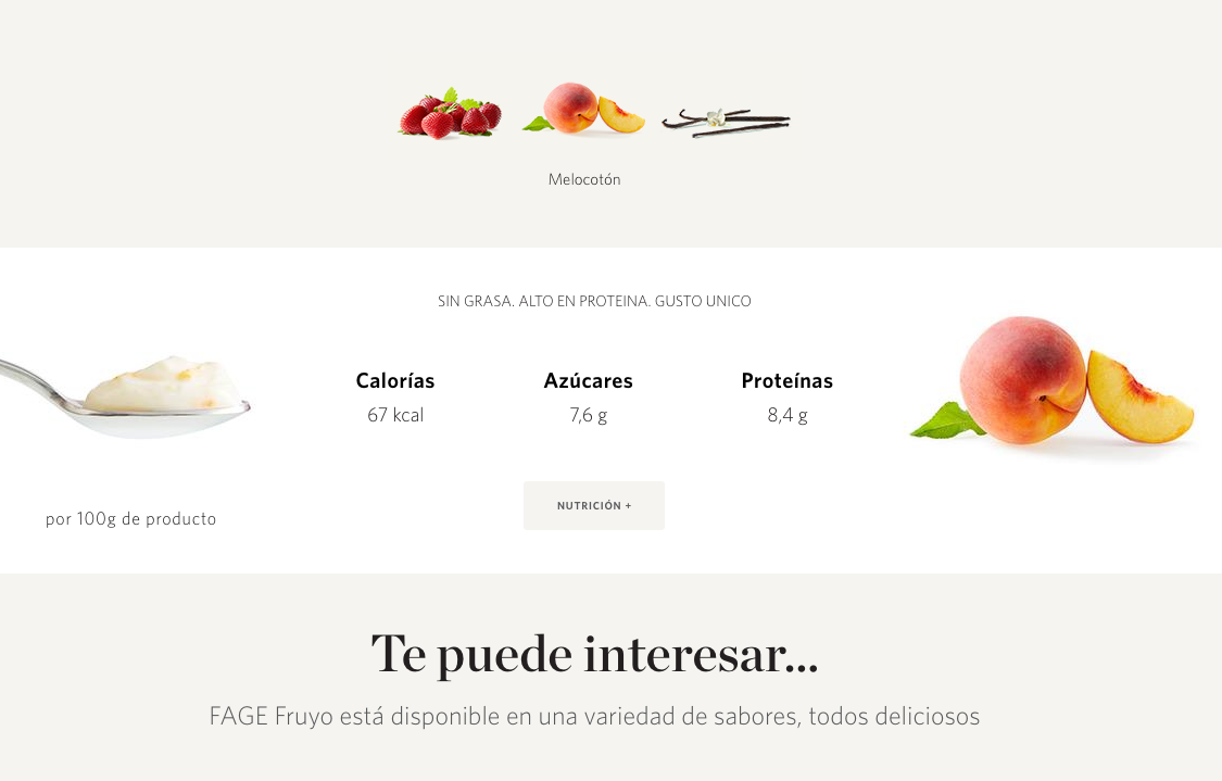 Spanish FAGE website
